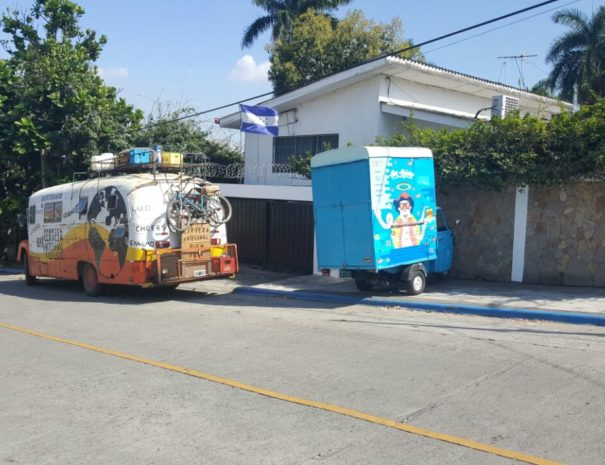 food trucks in Honduras